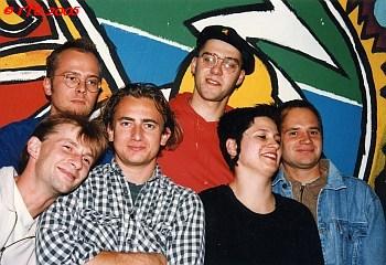 The Shame & SKAndal Family 1996 at Peacestreet