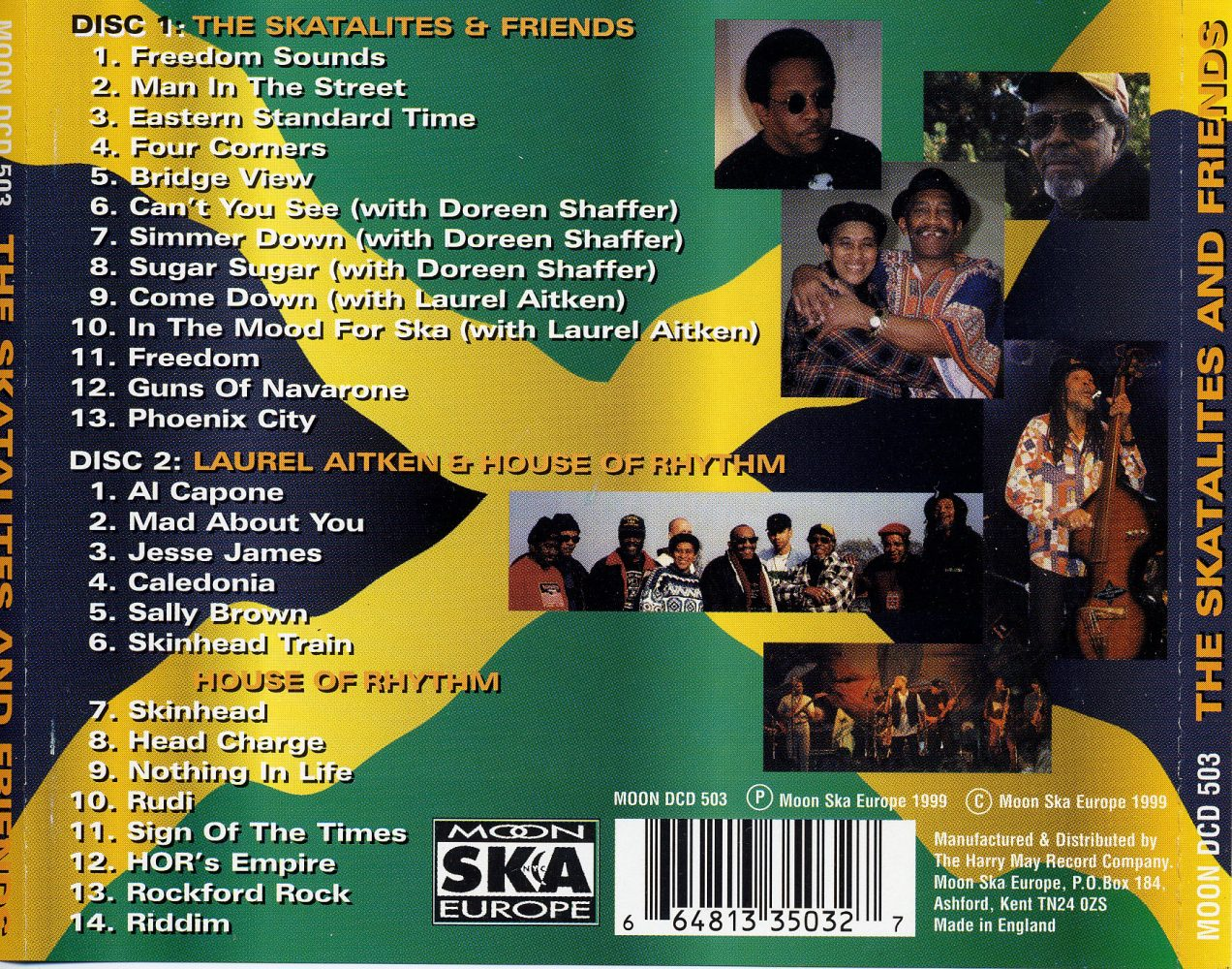 Skasplash CD back outer sleeve