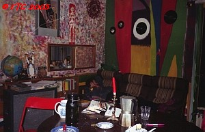 Living room at Peacestreet 1996