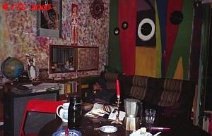 Living room at Peacestreet 1996