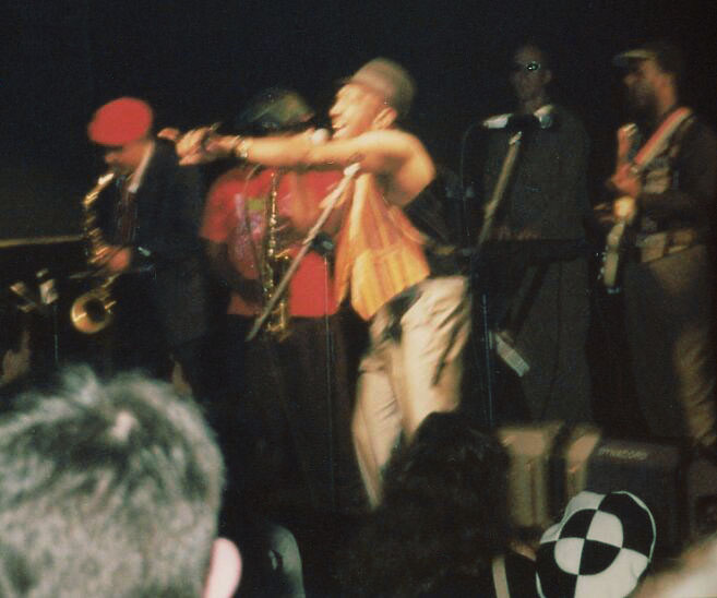 The very first live performance of the godfather of SKA with the fathers of SKA