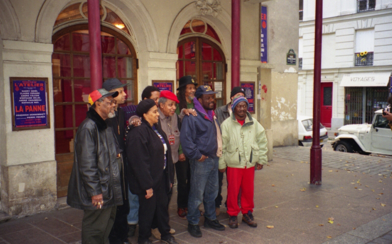 The Skatalites in Paris 1996