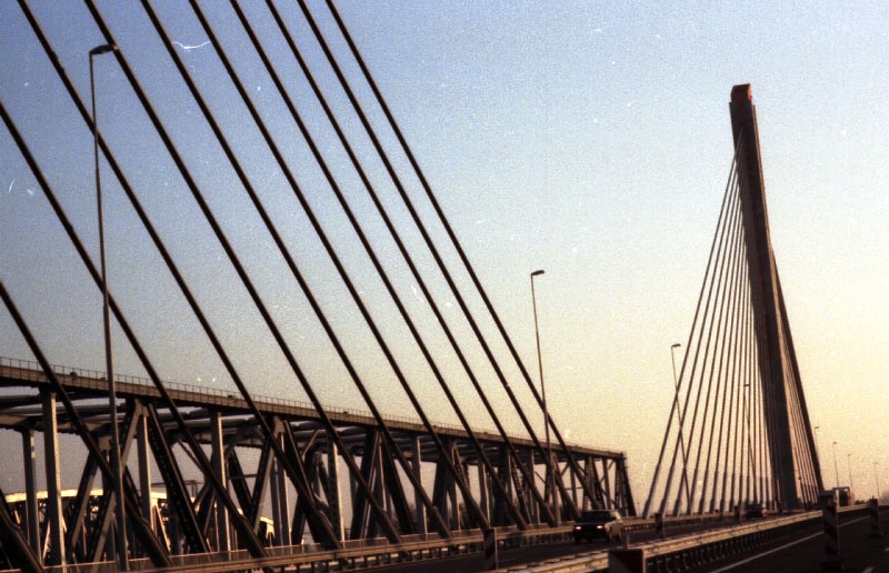 A bridge somewhere in Netherlands on the way to Eindhoven 1996