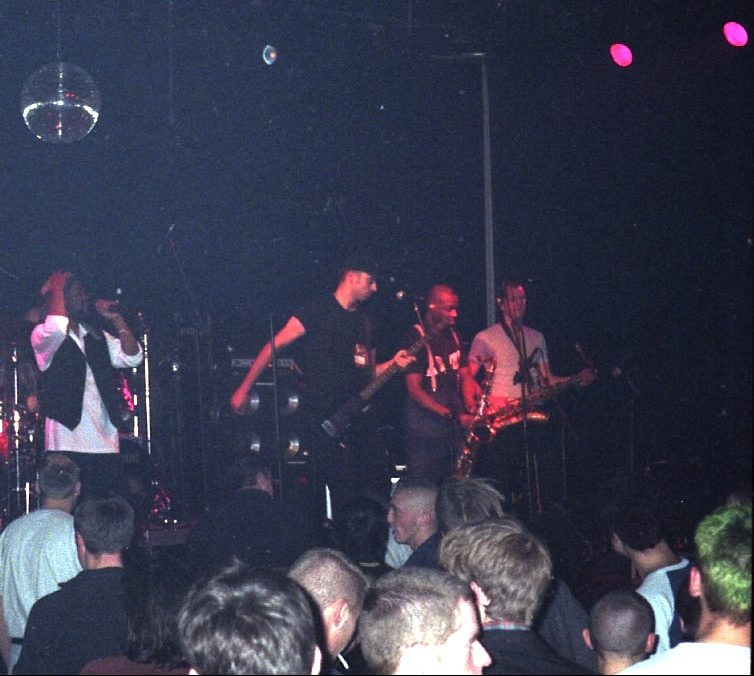 House Of Rhythm at Effenaar, Eindhoven, Netherlands 1996