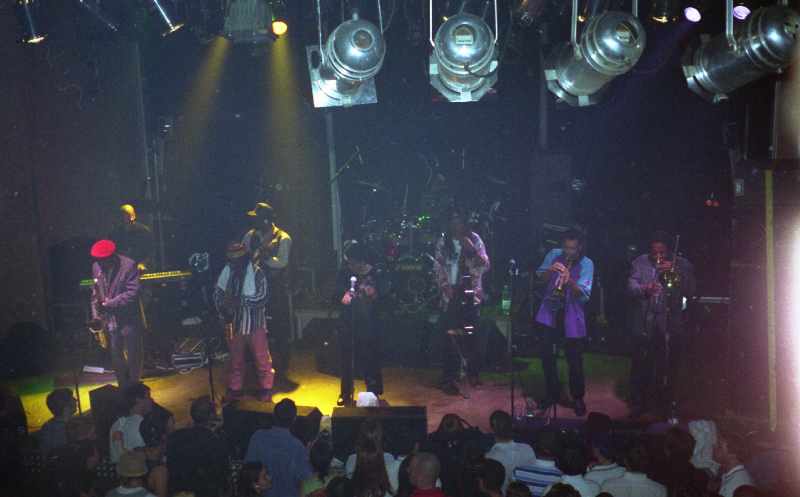 Doreen Shaffer & The Skatalites at Bikini, Toulouse 1996