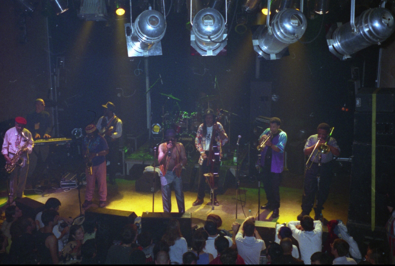 Laurel Aitken & The Skatalites, live in Le Bikini, Toulouse 1996