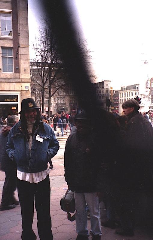 Lloyd Brevett and Laurel Aitken in Amsterdam 1996