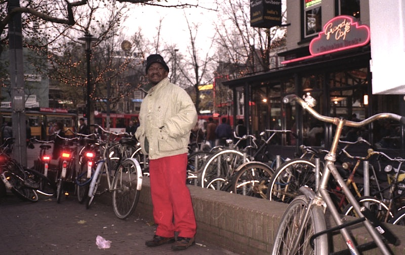 Lester Sterling in Amsterdam, 1996