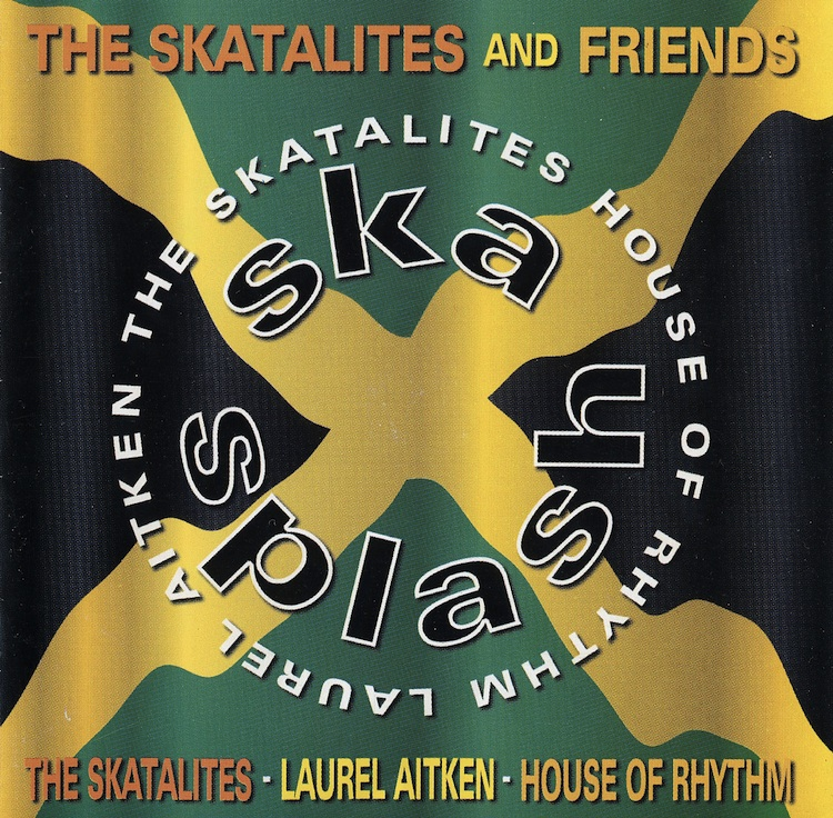 Skasplash 1996 CD front cover, Moon Ska Europe 1999