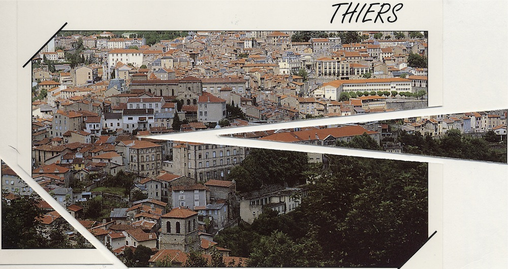 Postcard from Thiers 1996