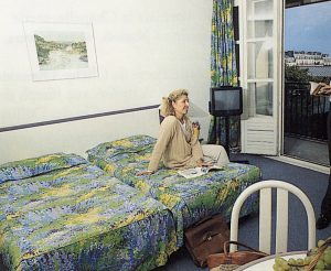 Hotel catalogue, the room I share with Rolando Alphonso looks exactly the same