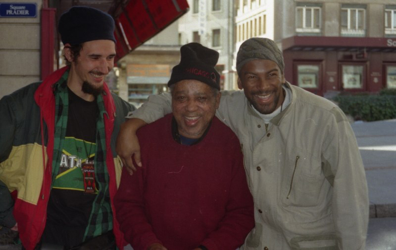 Claude, Rolando Alphonso, Cutty Williams, Geneva 1996