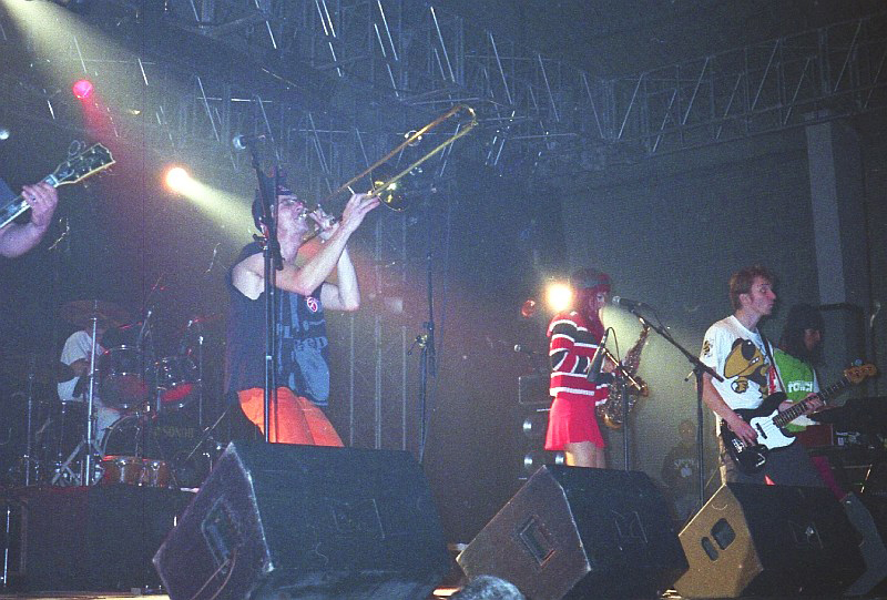 Marousse at Festival Art Rock, Saint-Brieuc 1996