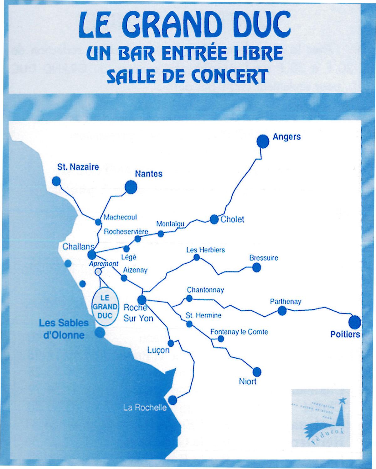 Flyer Le Grand Duc, Apremont 1996