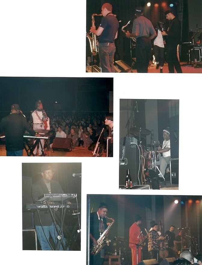 Fotoalbum page from Hof Ter Lo, Antwerp, Belgium 1996
