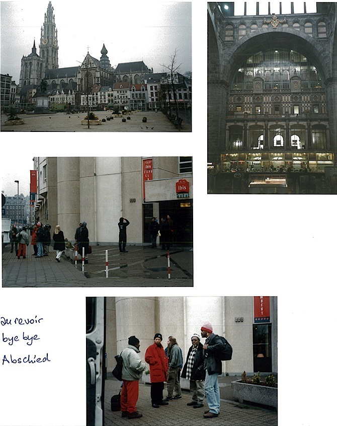 Last scene in Antwerp, 1996