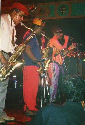 Rolando Alphonso, Lester Sterling, Laurel Aitken & The Skatalites, live at Rockstore, Montpellier 1996