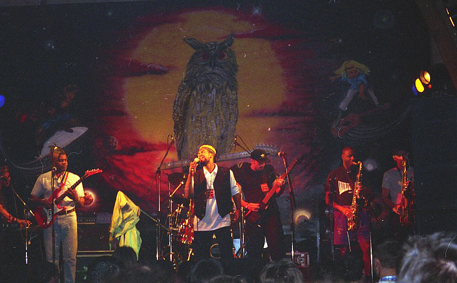 House Of Rhythm live at Le Grand Duc, Apremont 1996