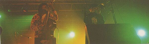 The Skatalites (Lloyd Brevett, Nathan Breedlove) at Festival Art Rock, Saint-Brieuc 1996