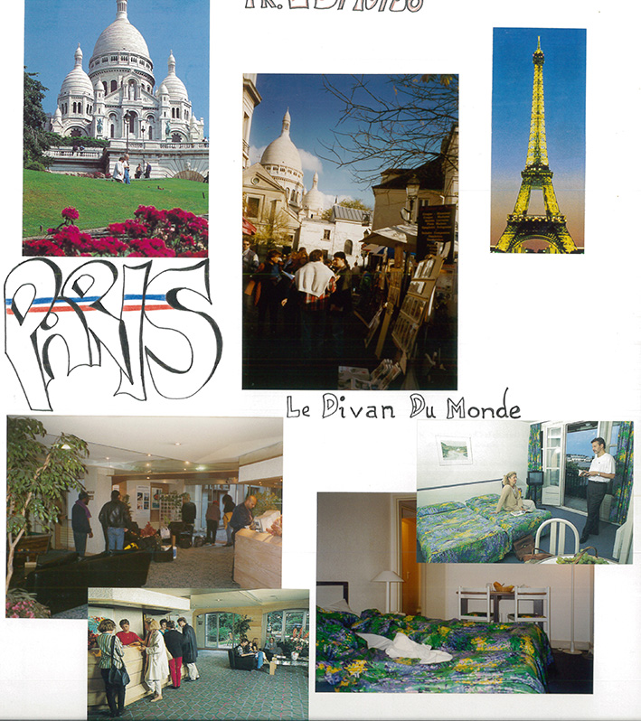 Paris out of my photo album