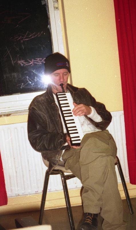 Bill Smith, backstage, Skasplash FZW, Dortmund 1996