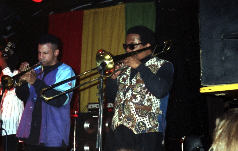 The Skatalites, Nathan Breedlove, Will Clark at Skasplash 1996, Tavastia, Helsinki
