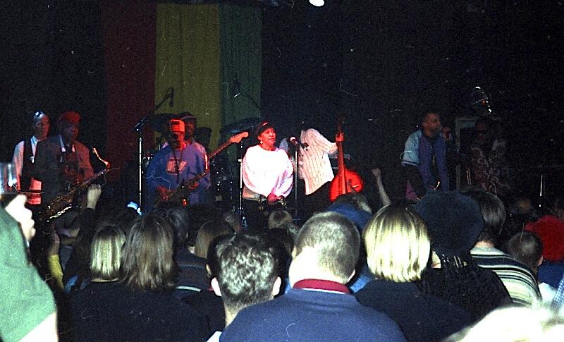 Doreen Shaffer & The Skatalites, Skasplash 1996, Tavastia, Helsinki
