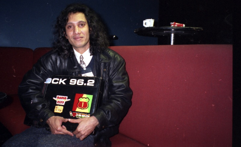 Ram, the promoter in Tavastia, Helsinki 1996