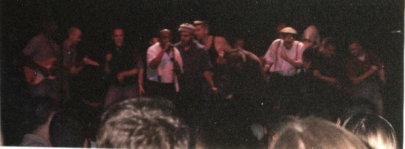 Laurel Aitken & The Skatalites plus Shay and fans, Muffathalle Munich 1996