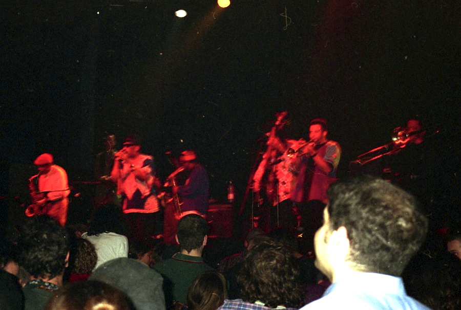 Laurel Aitken & The Skatalites, Muffathalle Munich 1996