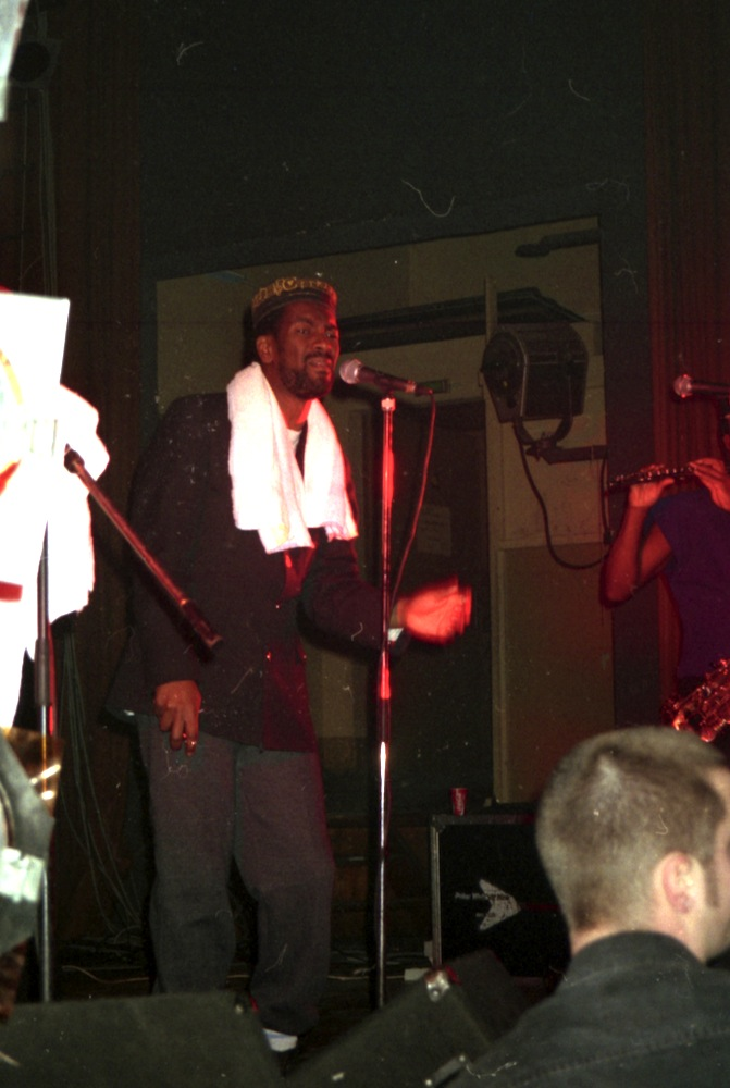 Cutty Williams & House Of Rhythm, Kraftwerk, Chemnitz 1996