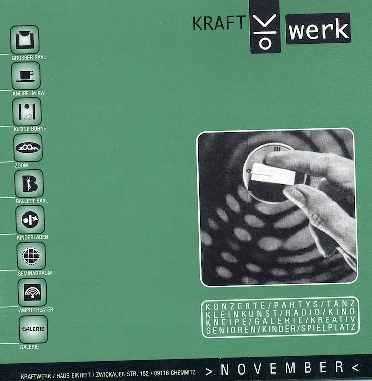 Kraftwerk program 1996, Chemnitz