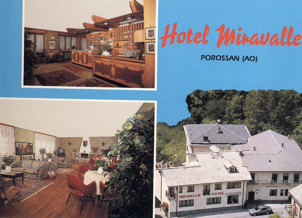 Hotel Miravalle, Aosta 1996