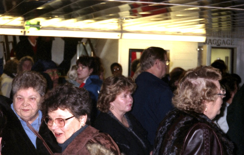 Find Laurel Aitken and Lloyd Knibb, ferry short before anchor, Stockholm 1996