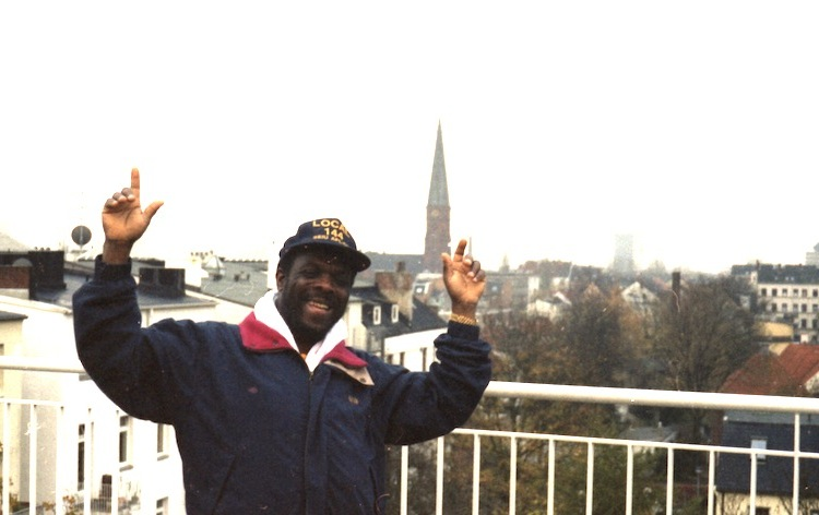 Devon James, Hotel Meridian, Hamburg 1996