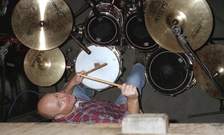 Jeremy at soundcheck, Skasplash 1996 at Fabrik, Hamburg