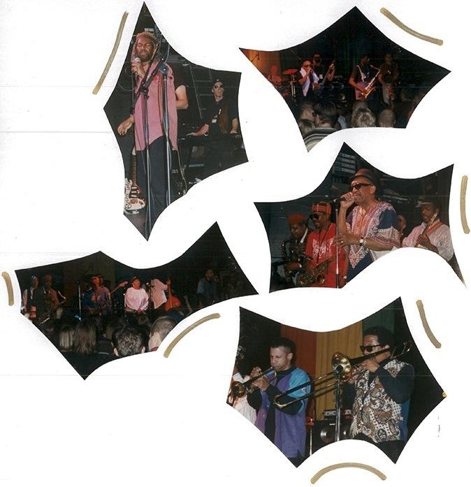 Page out of my fotoalbum, Skasplash 1996, Tavastia, Helsinki