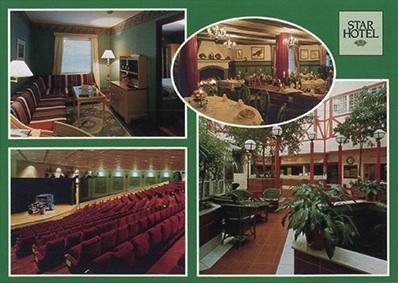 Postcard Hotel Star, Lund, Sweden, 1996