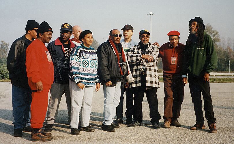 Laurel Aitken & The Skatalites on the road to Quiliano 1996
