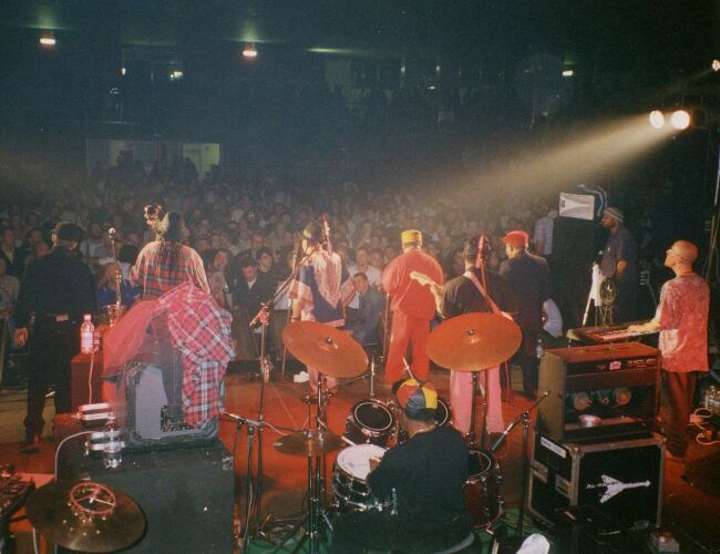 The Skatalites, live at palasport, Quiliano 1996