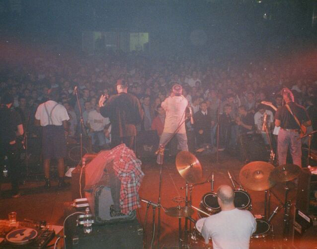 House Of Rhythm, live palasport, Quiliano, 1996