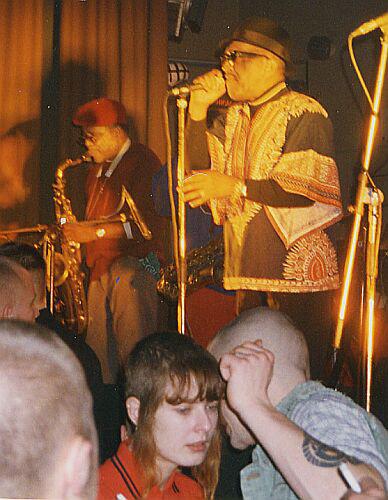 Laurel Aitken & The Skatalites, Kraftwerk, Chemnitz 1996
