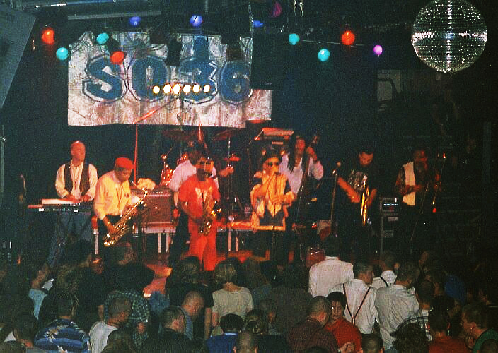 Laurel Aitken & The Skatalites, Skasplash 1996 at SO 36, Berlin