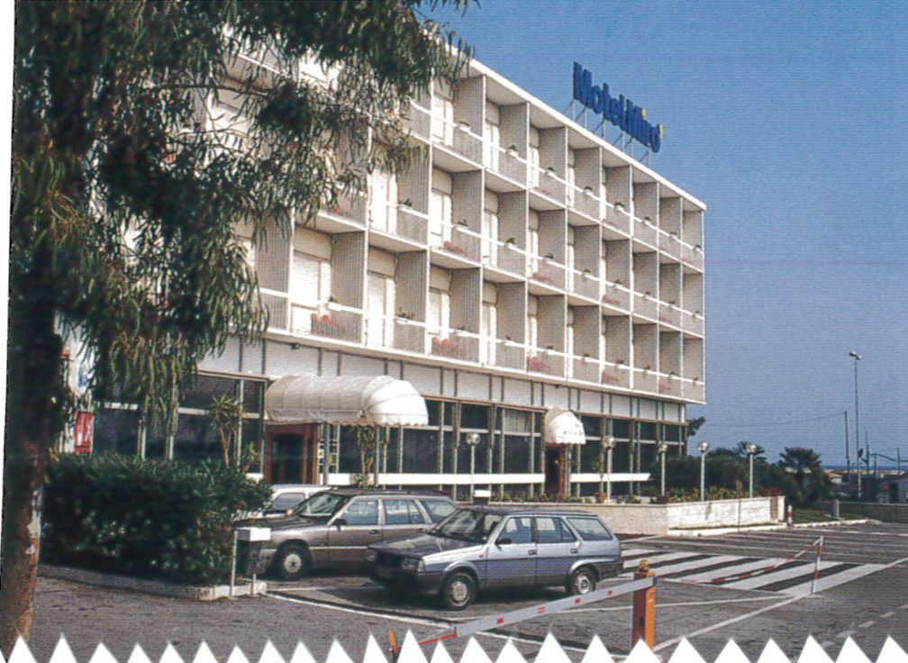 Hotel just beside mediterranean sea, Quiliano 1996