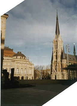 Church in Chemnitz 1996