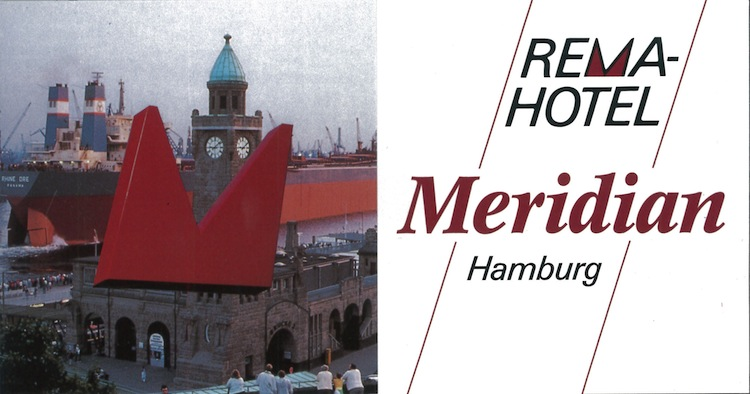 Prospectus Hotel Meridian, Hamburg 1996