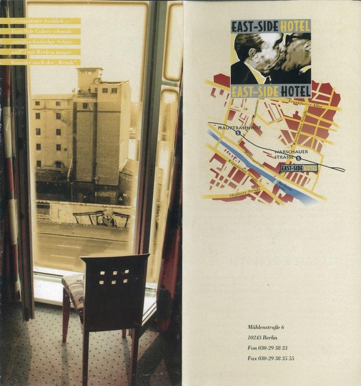 Hotel flyer 1996