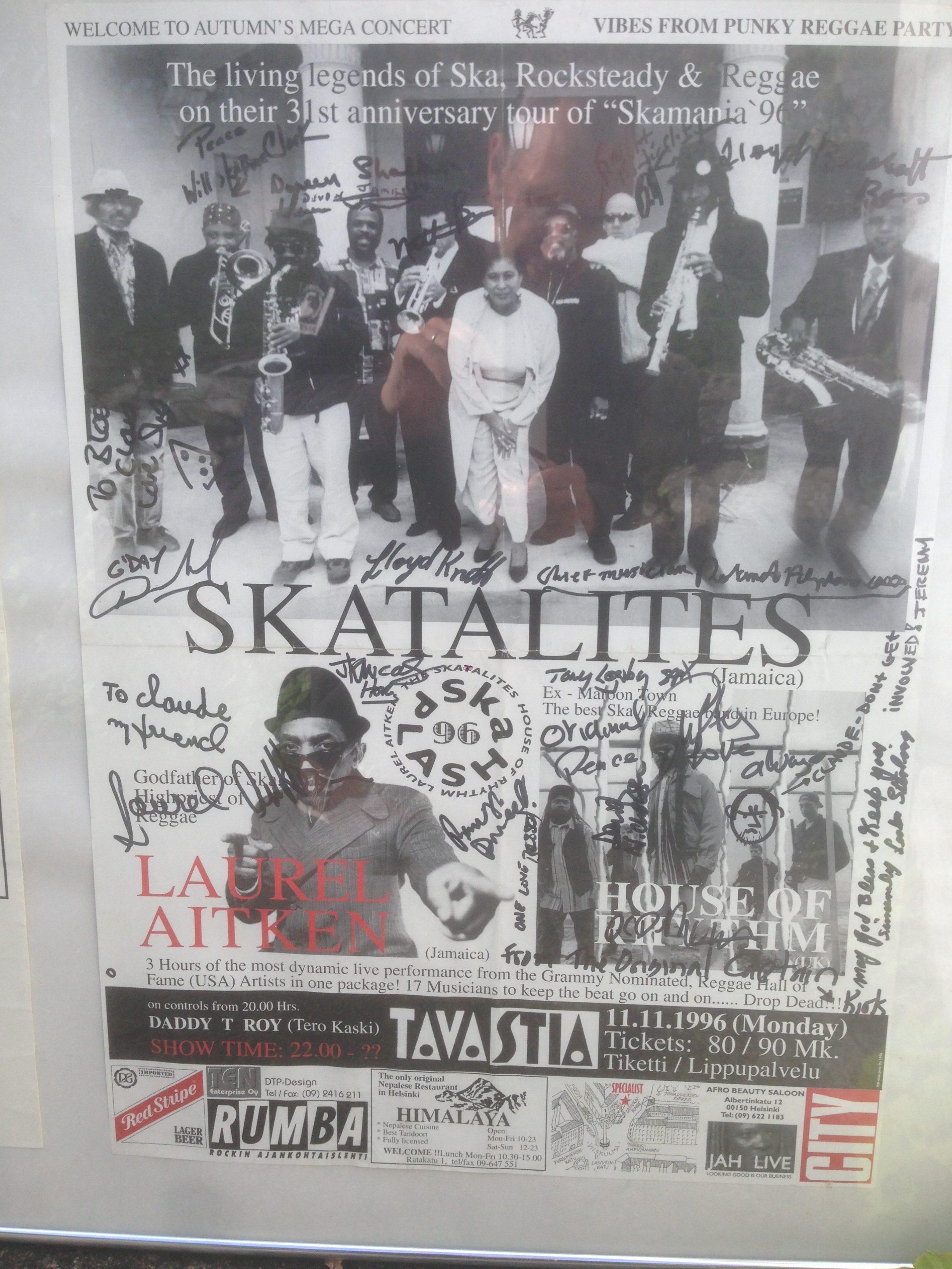 Skasplash 1996, Helsinki Tavastia