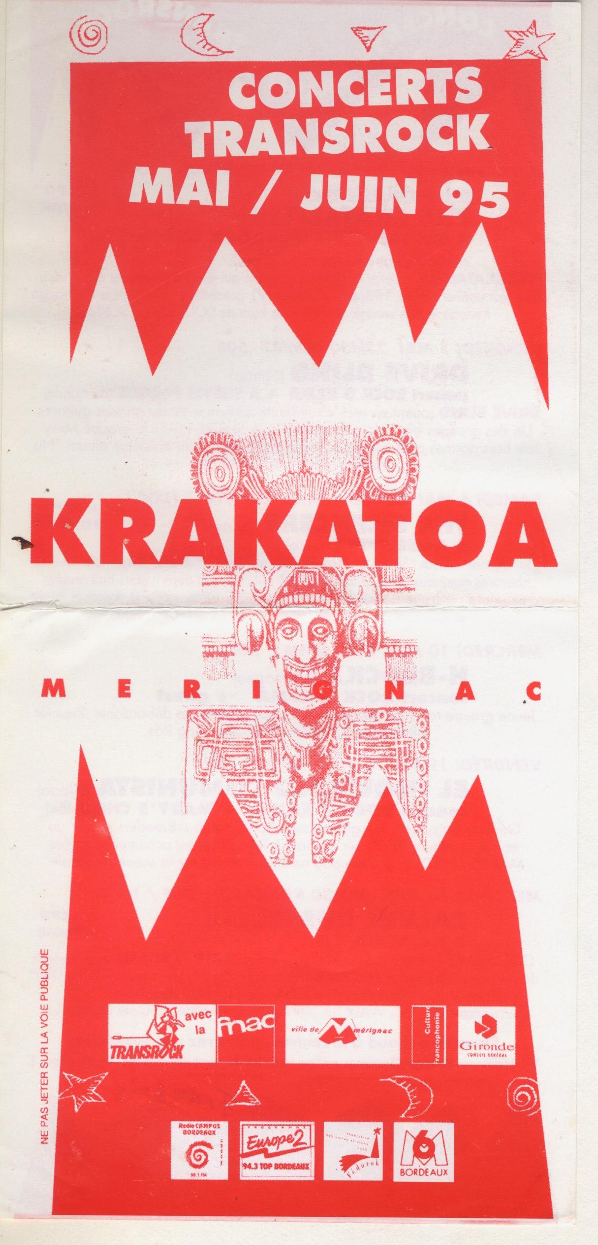 Flyer Krakatoa