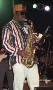 The Skatalites, Lester Sterling live Palladium Geneva 1996